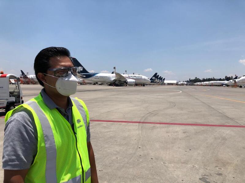 Mantenimiento Aeroméxico