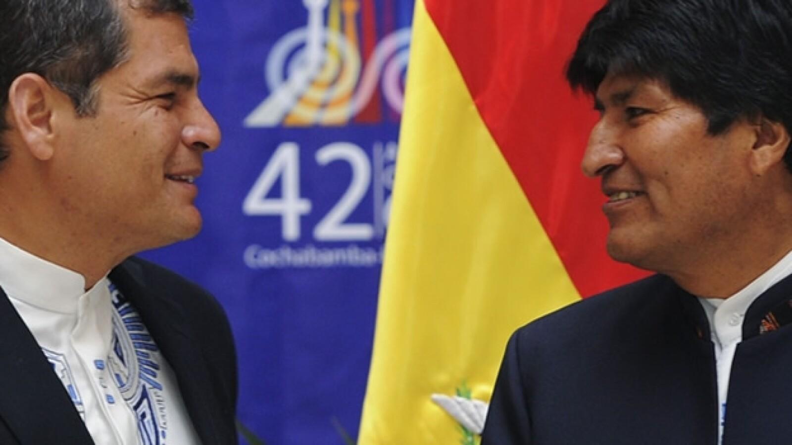 bolivia, ecuador