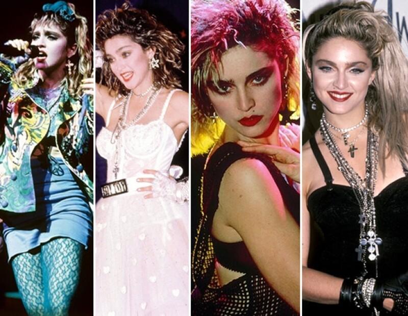 Madonna en los 80.