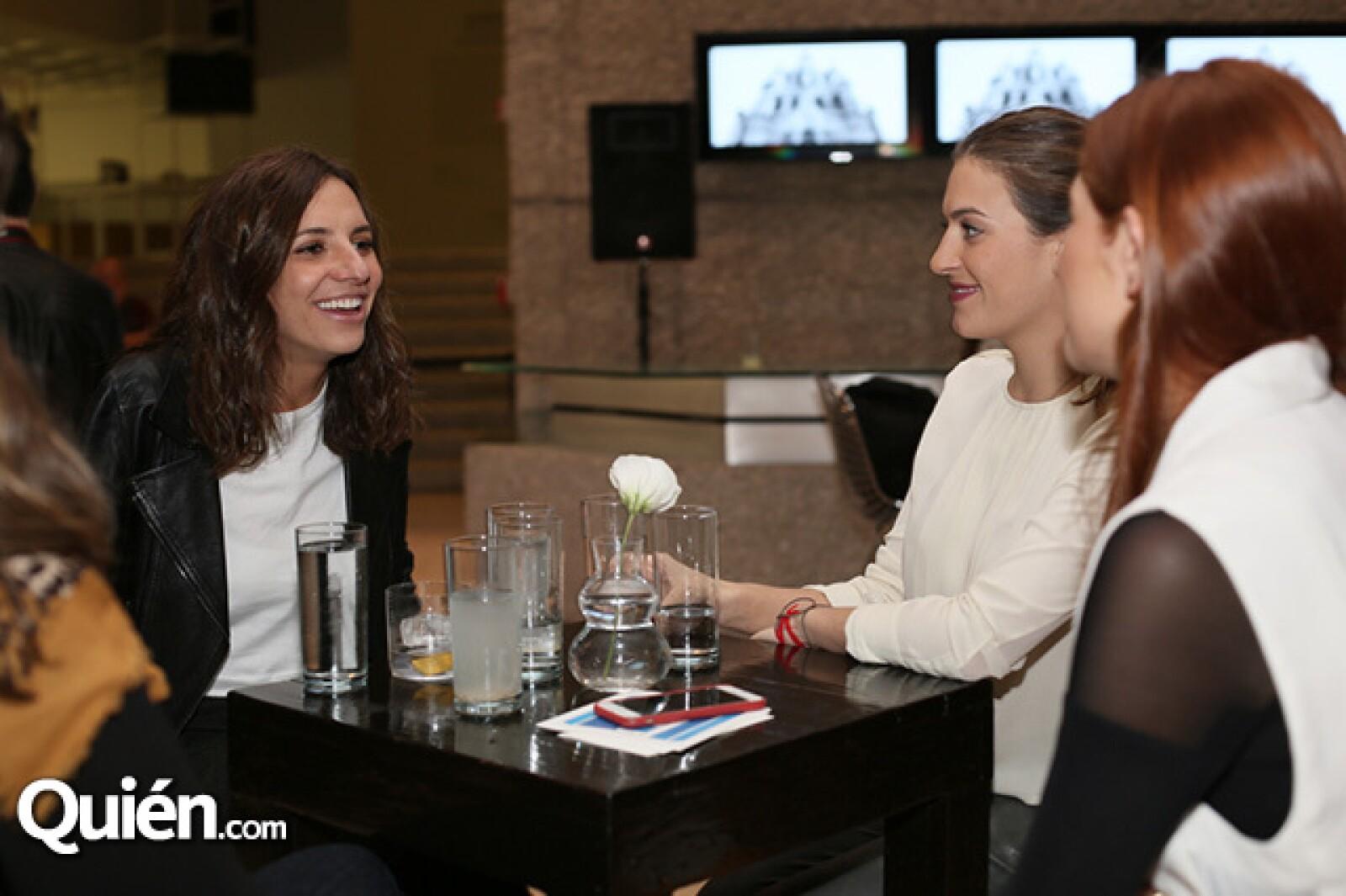 María Ángeles Reygadas y Pamela González