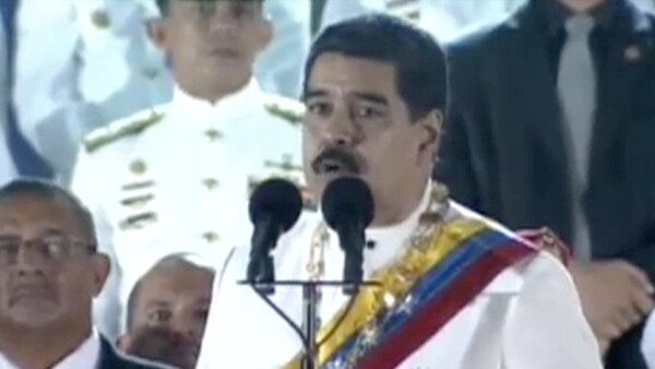Nicolás Maduro acusa a México, Colombia y EU de intentar derrocarlo