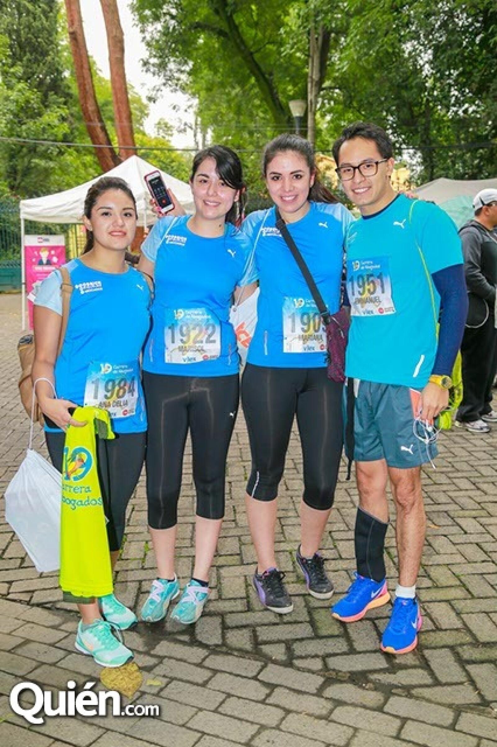 Ana Delia Maya,Marisol Hernández,Mariana Aguilar y Emmanuel Alanís