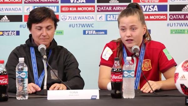 España gana el Mundial de futbol femenino sub 17 tras derrotar a México