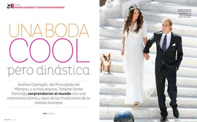 Los detalles de la boda de Andrea y Tatiana.