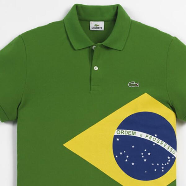 Las playeras tipo Polo tendrán los colores y banderas de algunos de los países más representativos que participarán en esta justa deportiva.