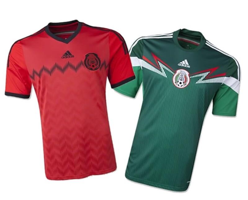 El equipo mexicano fue el primero en revelar la camiseta oficial del Mundial.