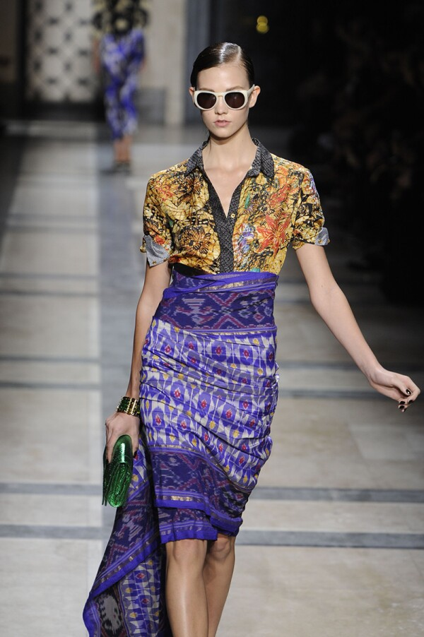 Dries Van Noten Spring 2010 RTW, Paris