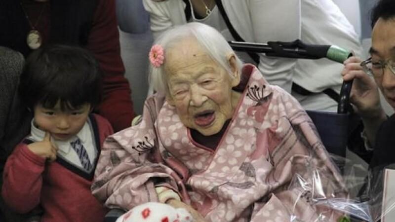 misao okawa mujer mas vieja