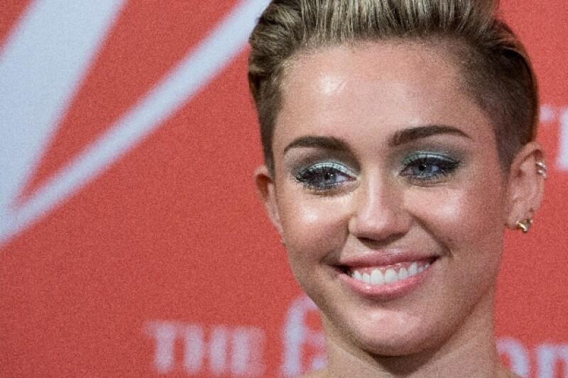 Miley Cyrus tuvo el susto de su vida en Londres.
