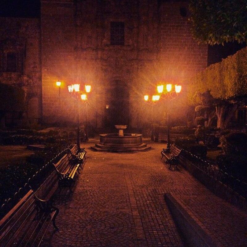 Algunos de los lugares en San Miguel de Allende que compartió la actriz.