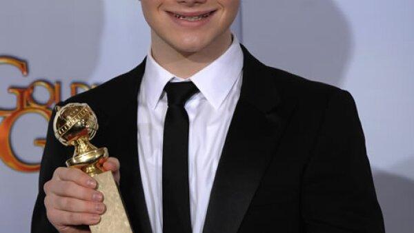 Aunque los fans de `Glee´ lo conocen bien, Chris Colfer ha ganado la atención total con su Golden Globe a mejor actor en una serie musical.