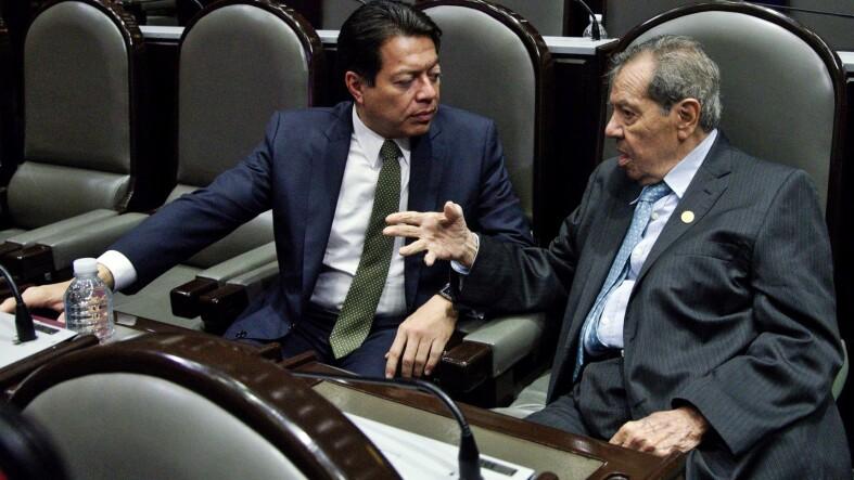 Mario Delgado y Muñoz Ledo
