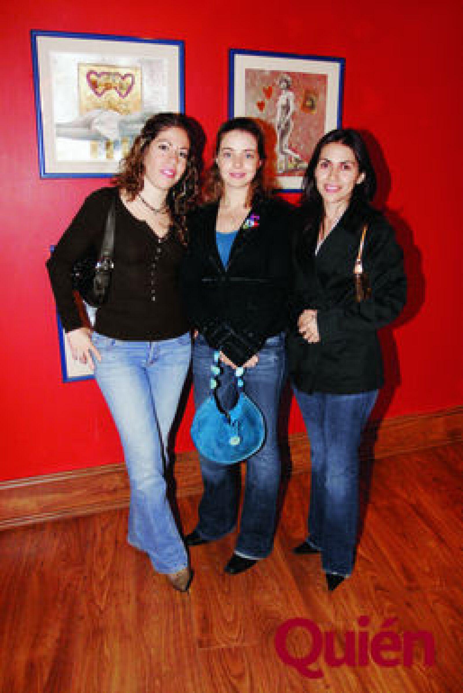 Marisol Pulido, Ana López, Arlette Montes