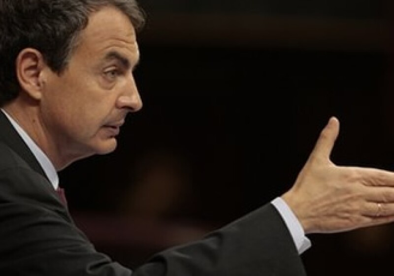 El Gobierno de Zapatero lució una reducción del déficit de España al séptimo mes. (Foto: Archivo AP)
