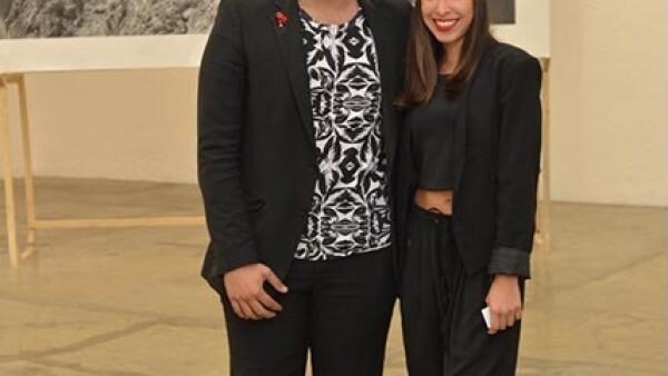Roberto Medina y Florencia Clausell.