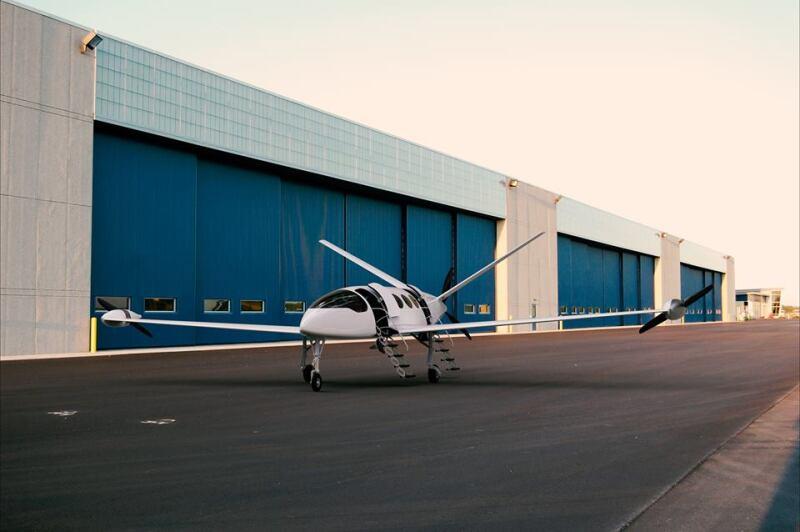 Avión eléctrico Eviation