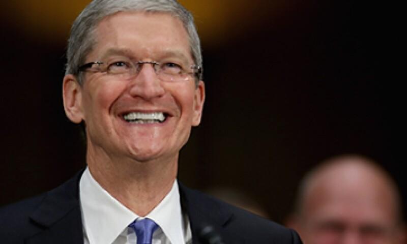 El CEO de Apple, Tim Cook, podría tener reservada una sorpresa para esta presentación. (Foto: Getty Images)