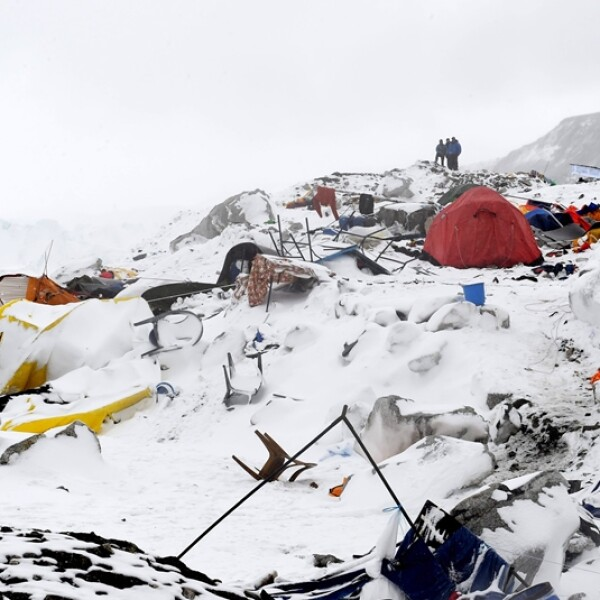 Campo base Everest Tibet Nepal