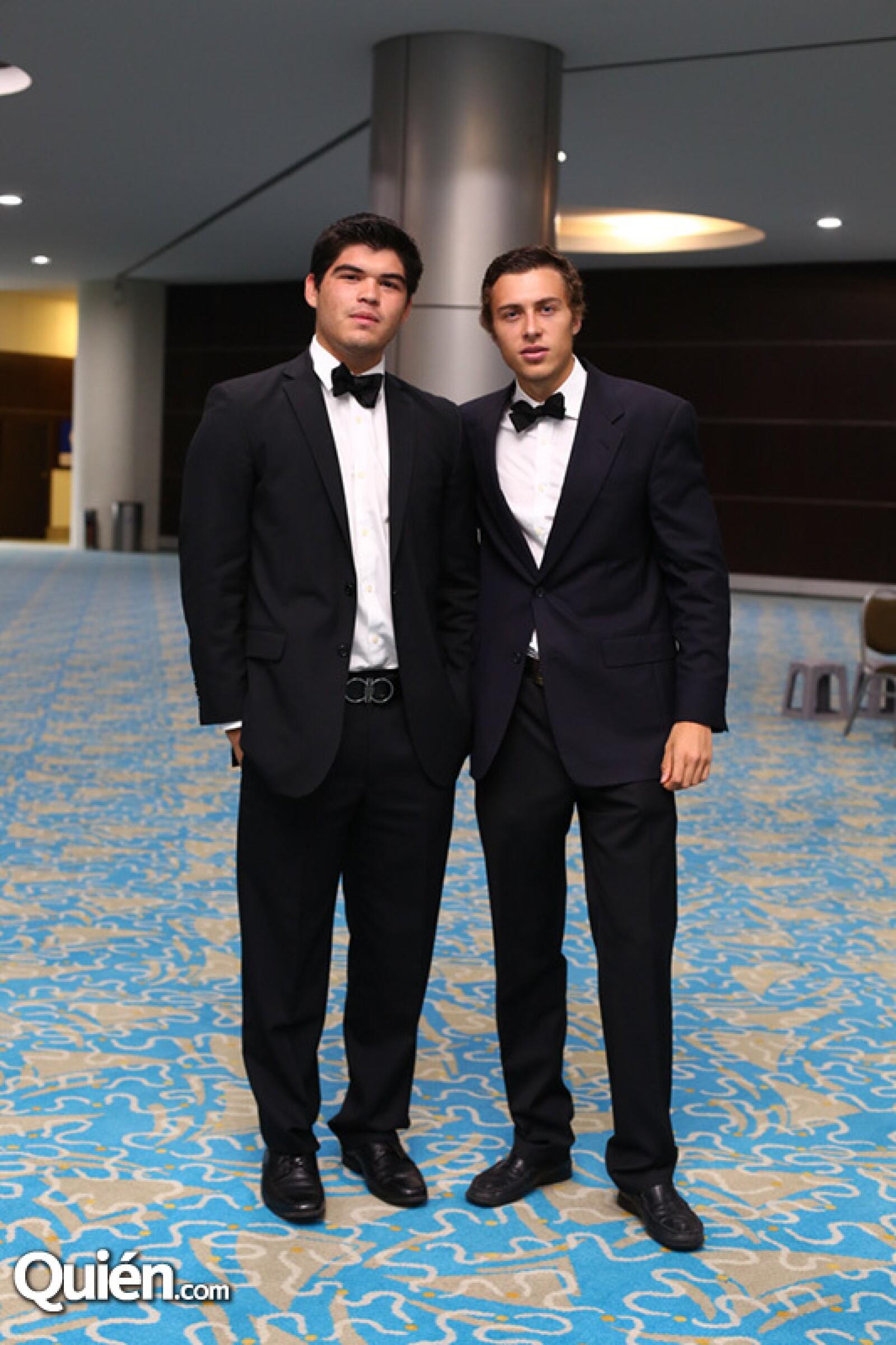 Héctor López y José Agüinaga