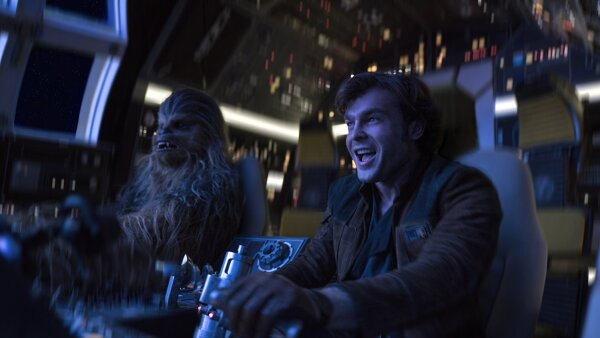 'Solo: a Star Wars Story'.