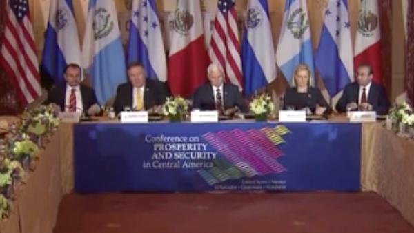 conferencia para la Seguridad y Prosperidad en Centroamérica