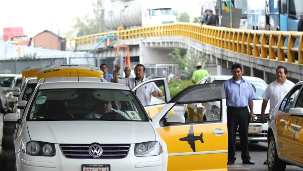 ricardo peralta taxis aplicación aeropuerto