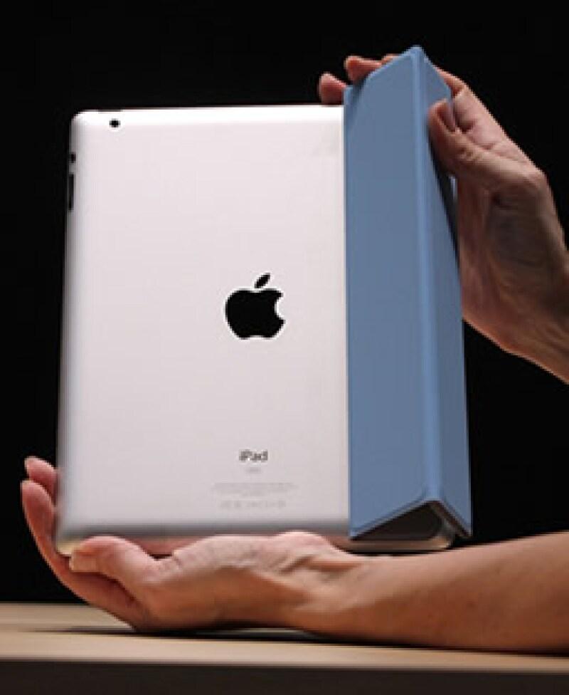 Para los analistas, la sorprendente velocidad del lanzamiento resalta la intensa competitividad en el mercado de las 'tablet' PC. (Foto: Cortesía Apple)