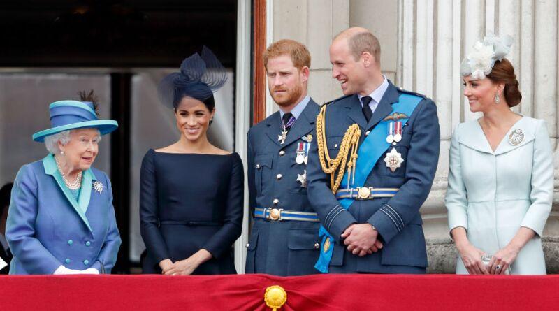 Reina Isabel, Meghan y Kate