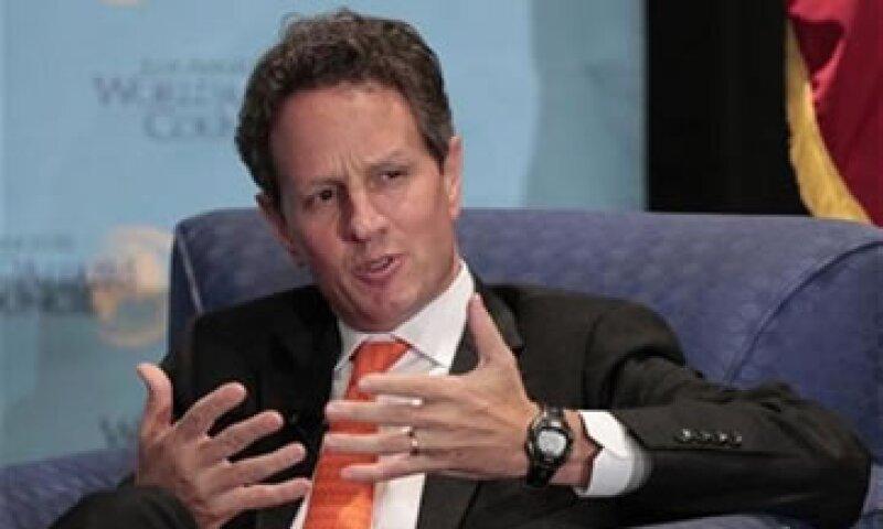 Geithner aseguró que EU está en una posición más fuerte que otra economía desarrollada grande.  (Foto: Reuters)