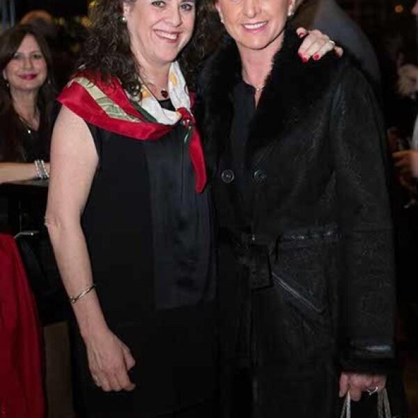Susana Quintanilla y Mónica Salvatorre