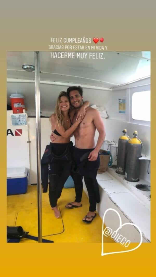 Mayte Rodríguez y Diego Boneta.