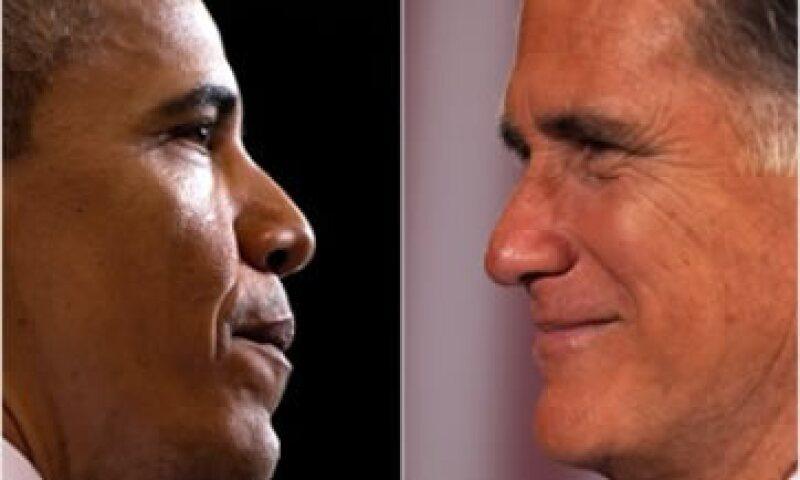 Romney dijo que Obama es el novio y la parca del sector bancario.  (Foto: Cortesía Fortune)
