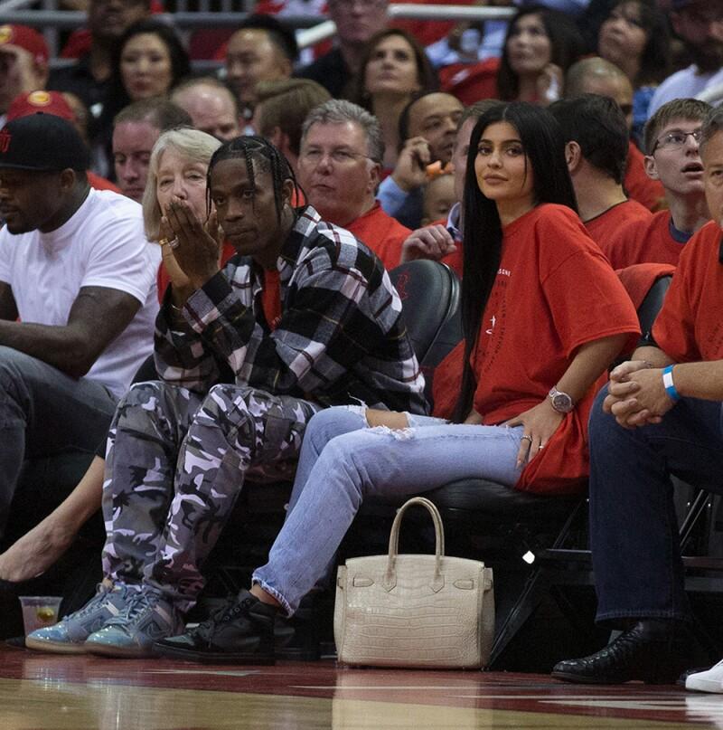 Kylie Jenner y Tarvis