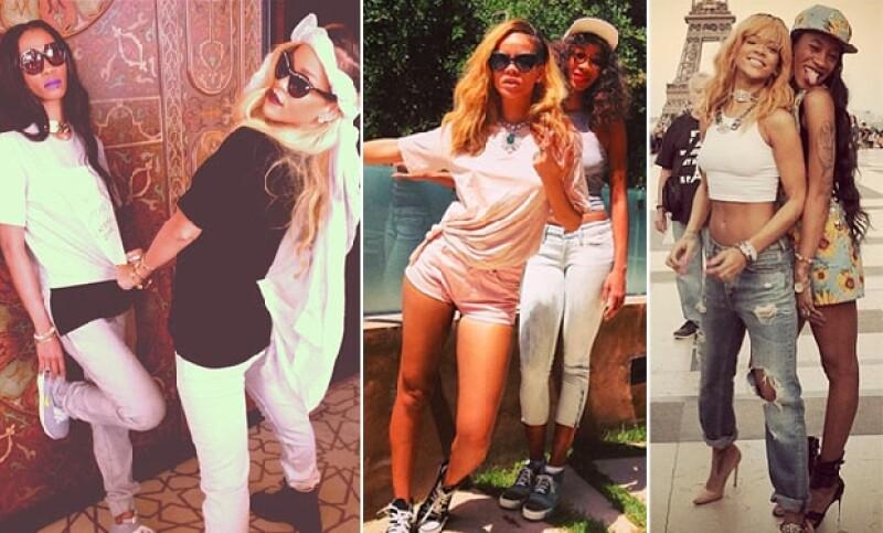 La compatibilidad entre Rihanna y Melissa es innegable, ella ha estado en todo momento junto a la cantante tras su separación de Chris Brown.