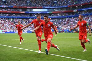 England goal Russia 2018