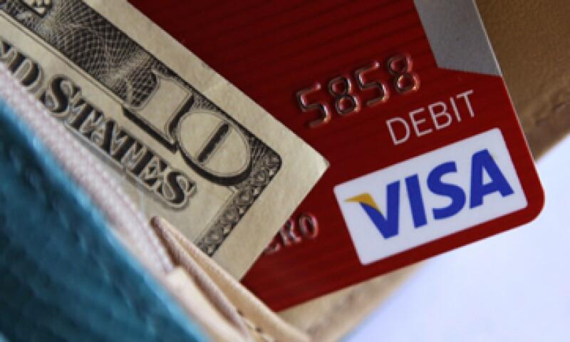 Visa dijo que aún espera un crecimiento anual neto de un 11% a un 15% para el año fiscal 2011. (Foto: AP)