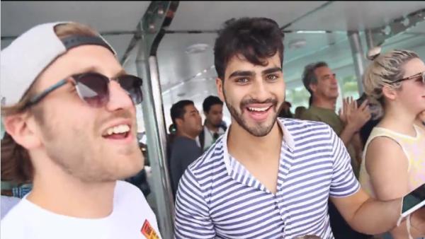 El Youtuber y otros influencers se divirtieron en el yate de la película Guat Defoc y Quién estuvo ahí para acompañarlos.