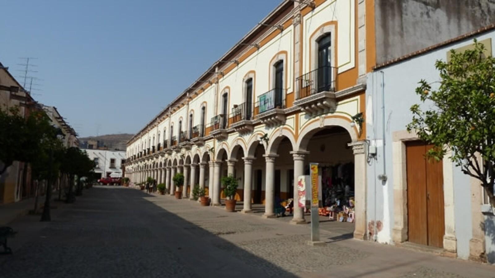 cabecera municipal de teul