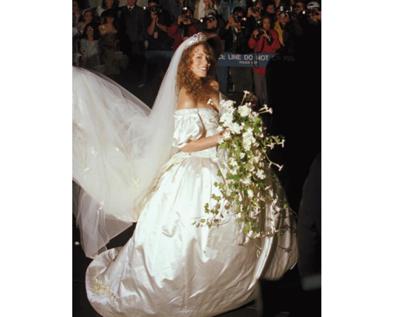 Famosas como Heidi Klum, Mariah Carey y Jennifer Lopez usaron vestidos de novia diseñados por Wang y todas ellas se han divorciado. ¿Será que sus creaciones dan mala suerte?