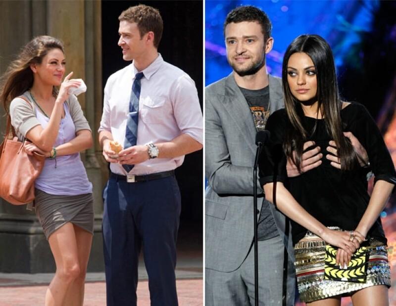 Mila y Justin dicen ser muy buenos amigos pero sin beneficios.