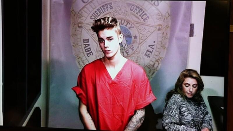 Justin Bieber carcel detenido