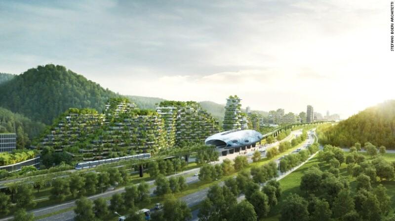 Ciudad-Bosque de Liuzhou, China