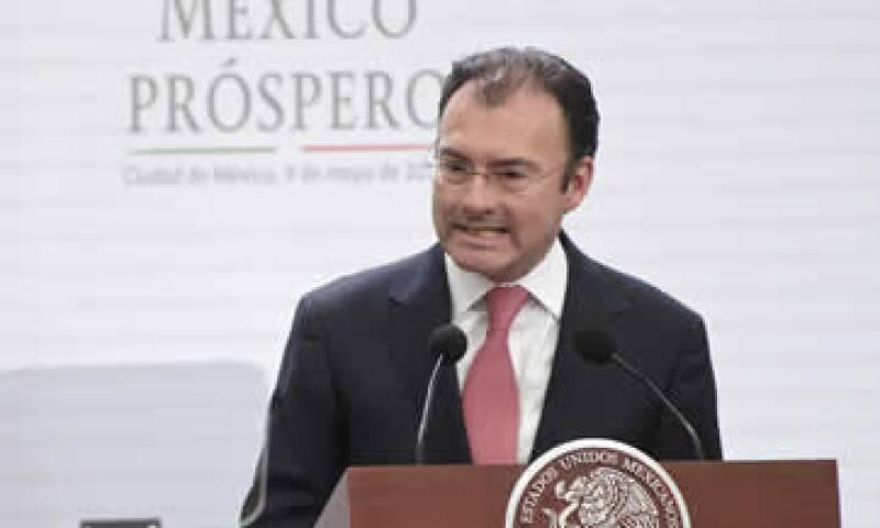 El Bancomext hará el anuncio formal del acuerdo, dijo Luis Videgaray. (Foto: Cuartoscuro)
