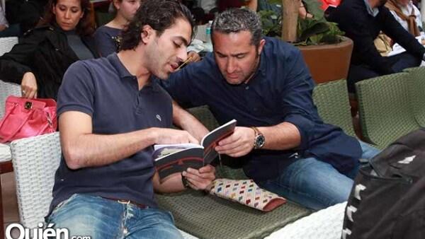 Marcos Mercado y Jaime Micha