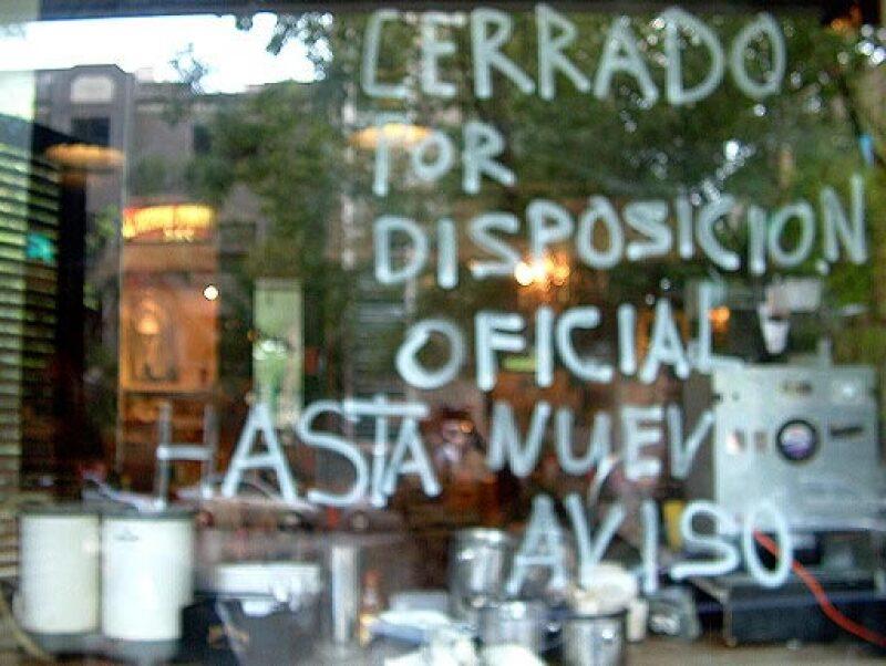 El 99% de los restaurantes en el DF cerraron por órdenes del GDF. (Foto: Foto: Miguel Ángel Flores)