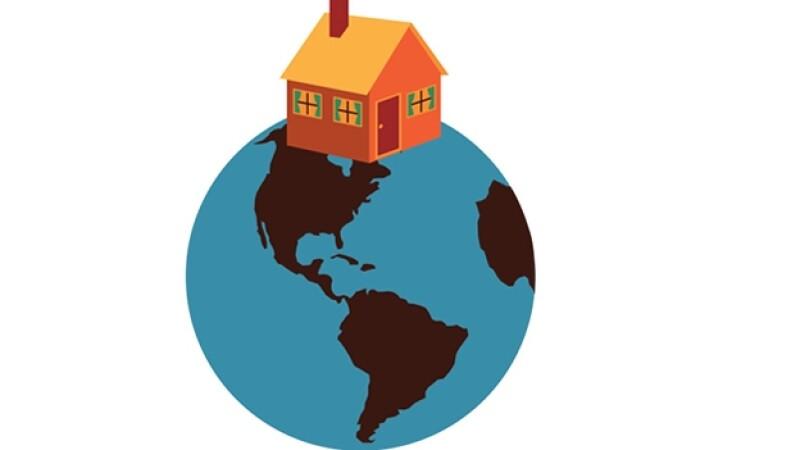 Tierra planeta casa medio ambiente