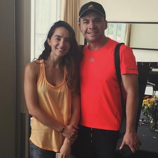Regina Marco y Mauricio Serrano