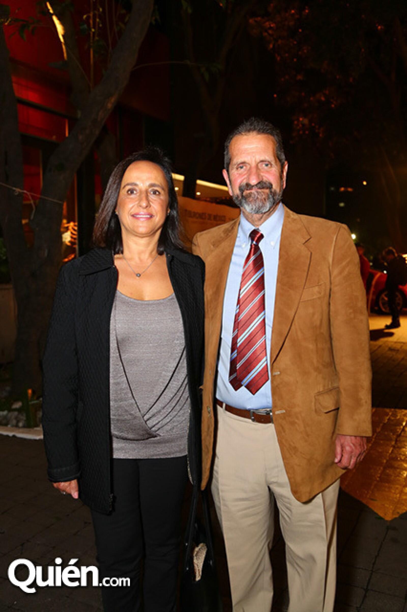Sara Berger y Francisco Álvarez