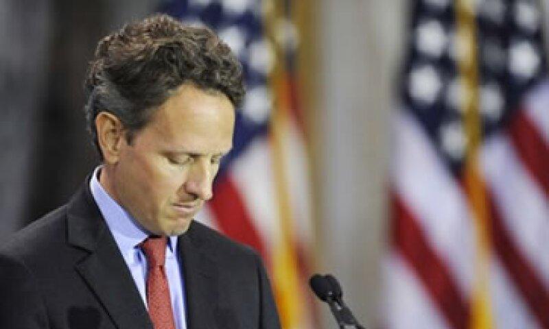 Geithner dijo que el fracaso no es opción para EU. (Foto: Reuters)