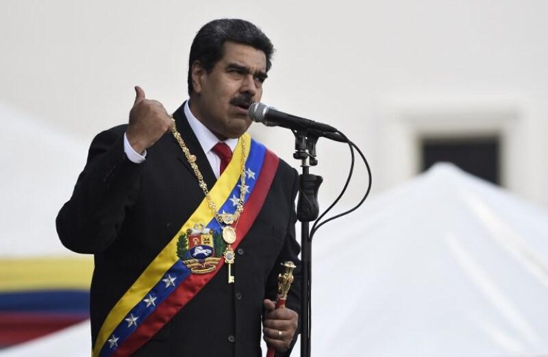 VENEZUELA-MADURO-SECOND-TERM-INAUGURATION
